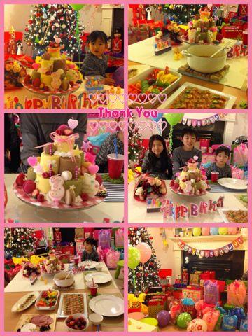 Mさんのお誕生日パーティー