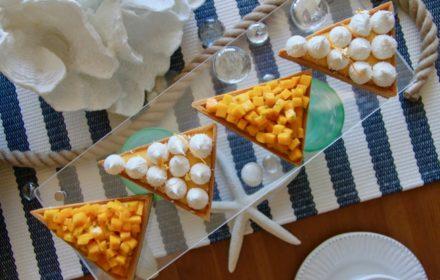 Tartelettes aux Agrumes Mangues
