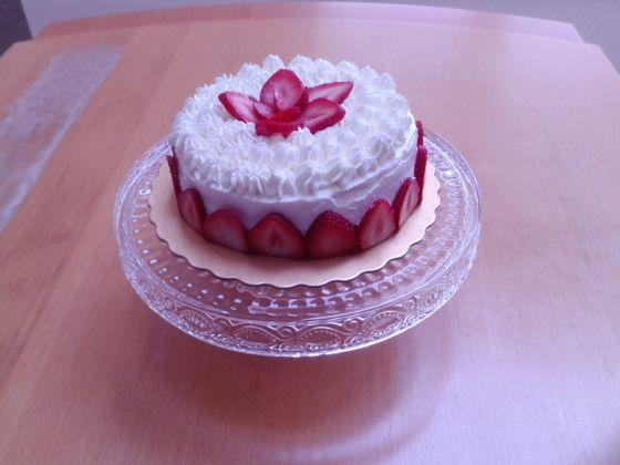 八子さんのいちごのショートケーキ