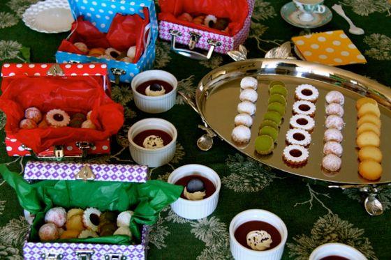 焼き菓子のジュエリーボックス、ポドクレーム教室