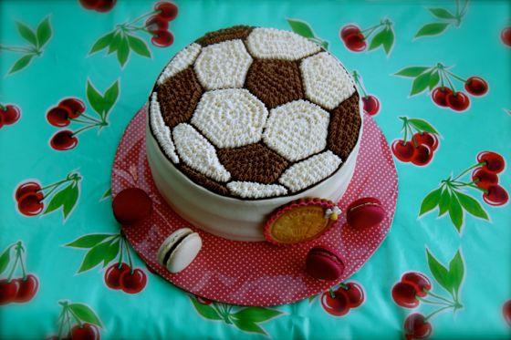 サッカーのケーキ