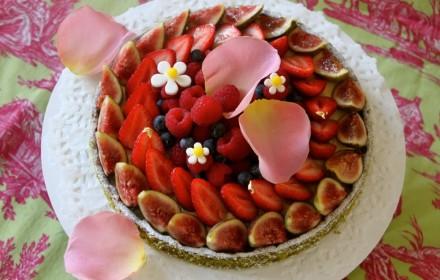 Tart with Seasonal Fruits