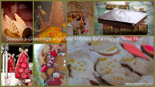 Happy holidays from Reikocakes !